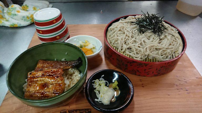 寒ざらし蕎麦と鰻イメージ