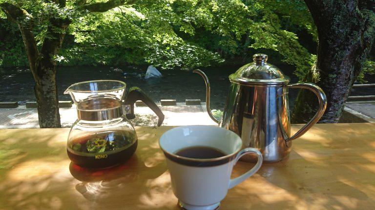 朝のコーヒーイメージ